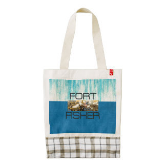 ABH Fort Fisher Zazzle HEART Tote Bag