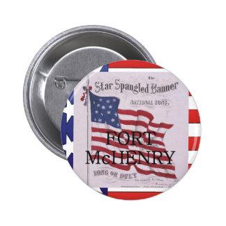 ABH Fort McHenry 2 Inch Round Button