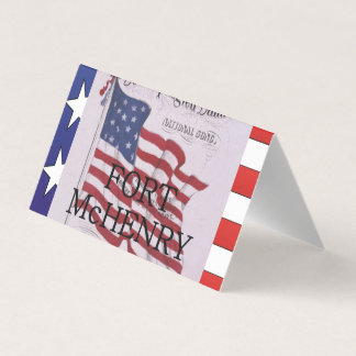ABH Fort McHenry Business Card