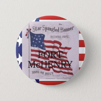 Fort McHenry Button