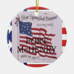 ABH Fort McHenry Christmas Ornaments