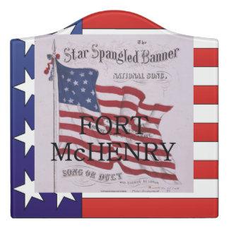 ABH Fort McHenry Door Sign