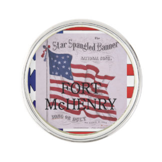 ABH Fort McHenry Lapel Pin