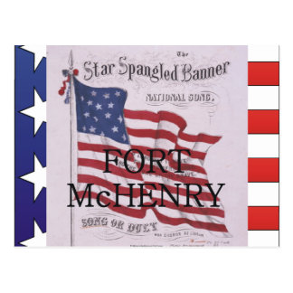 ABH Fort McHenry Postcard