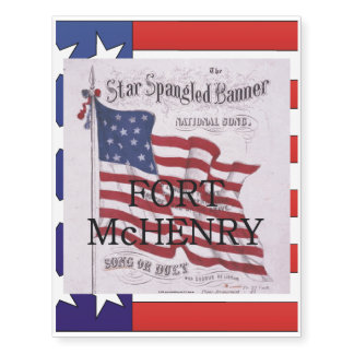 ABH Fort McHenry Temporary Tattoos