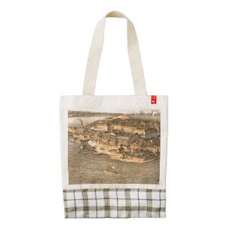 ABH Fort Monroe Zazzle HEART Tote Bag