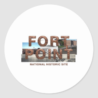 ABH Fort Point Classic Round Sticker