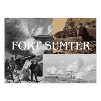 ABH Fort Sumter Large Business Cards (Pack Of 100)