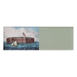 ABH Fort Sumter Name Tag