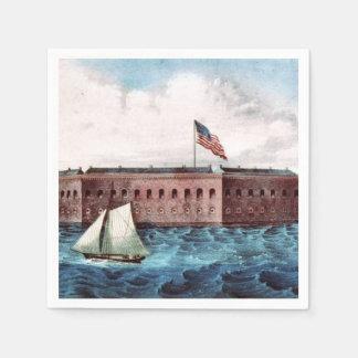 ABH Fort Sumter Napkin