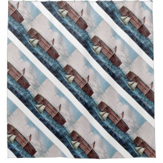 ABH Fort Sumter Shower Curtain