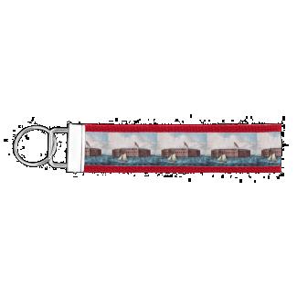 ABH Fort Sumter Wrist Keychain