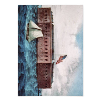 ABH Fort Sumter Magnetic Invitations