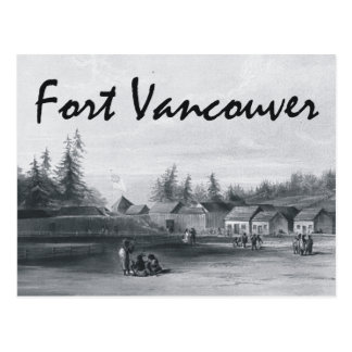 ABH Fort Vancouver Postcard