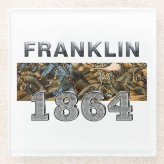 ABH Franklin Glass Coaster
