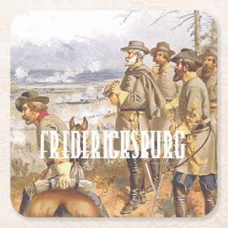 ABH Fredericksburg Posavasos De Papel Cuadrado