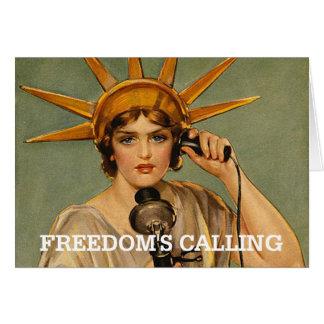 ABH Freedom Calling Card