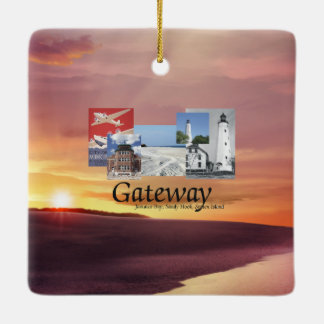 ABH Gateway Ceramic Ornament