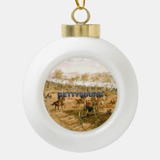 ABH Gettysburg 150 Ceramic Ball Christmas Ornament