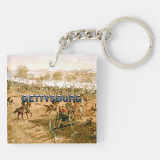 ABH Gettysburg 150 Double-Sided Square Acrylic Keychain