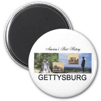 ABH Gettysburg 2 Inch Round Magnet