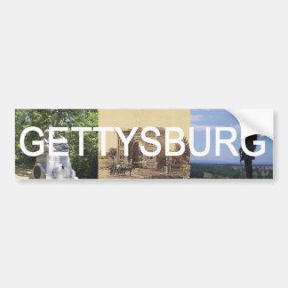 ABH Gettysburg Car Bumper Sticker