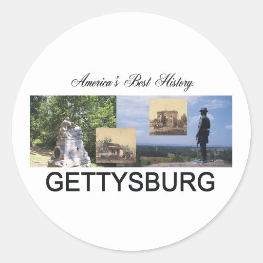 ABH Gettysburg Classic Round Sticker