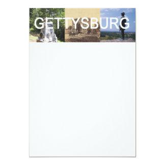 ABH Gettysburg 5x7 Paper Invitation Card