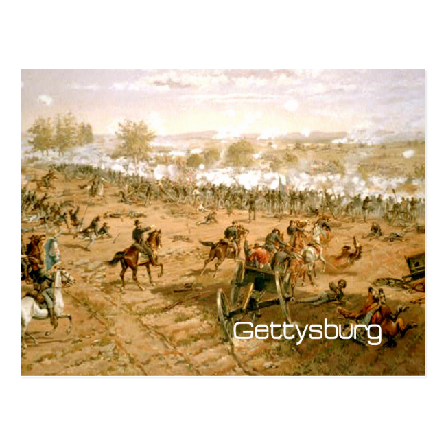 ABH Gettysburg Postcard