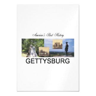 ABH Gettysburg Magnetic Invitations