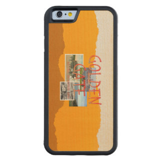 ABH Golden Gate Carved® Maple iPhone 6 Bumper