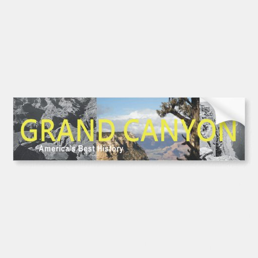ABH Grand Canyon Bumper Sticker