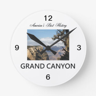 ABH Grand Canyon Round Clock