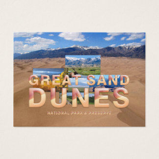 ABH Great Sand Dunes Business Card