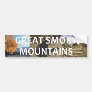ABH Great Smoky Mountains Bumper Sticker