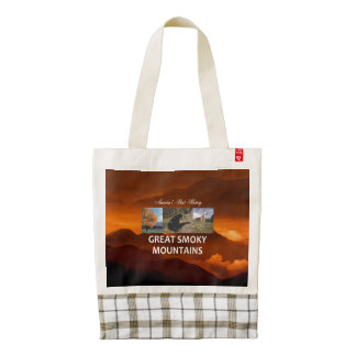 ABH Great Smoky Mountains Zazzle HEART Tote Bag