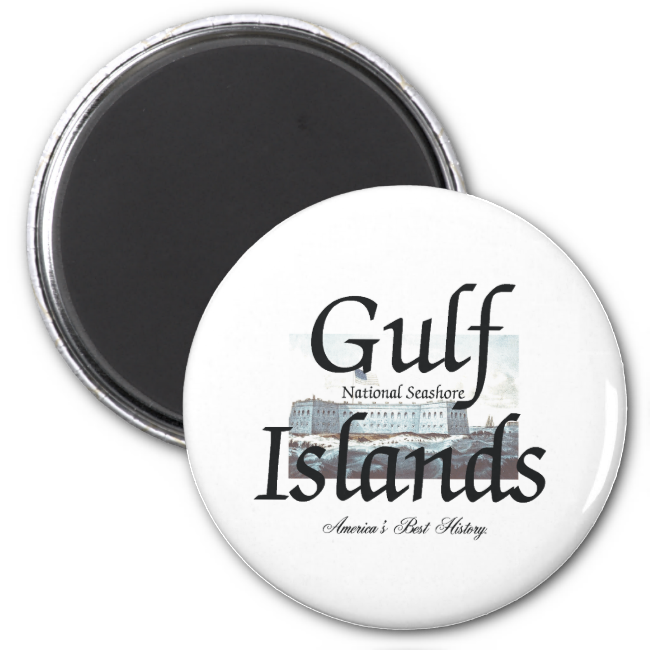 ABH Gulf Islands 2 Inch Round Magnet