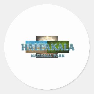ABH Haleakala Classic Round Sticker