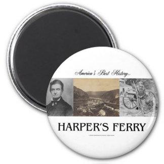 ABH Harper's Ferry 2 Inch Round Magnet