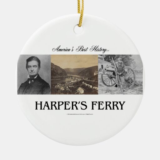 ABH Harpers Ferry Ceramic Ornament