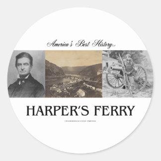 ABH Harper's Ferry Classic Round Sticker