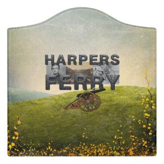 ABH Harper's Ferry Door Sign