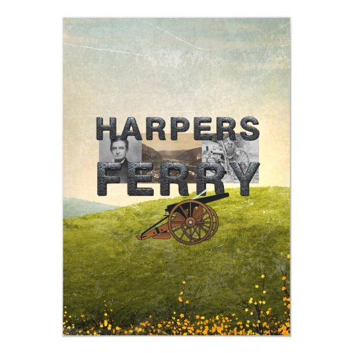 ABH Harper's Ferry Magnetic Invitations
