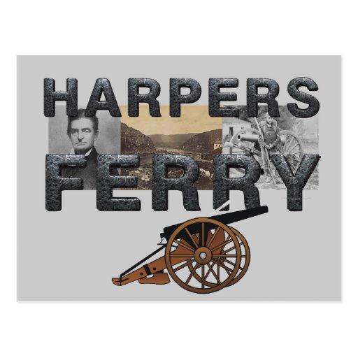 ABH Harper's Ferry Post Cards