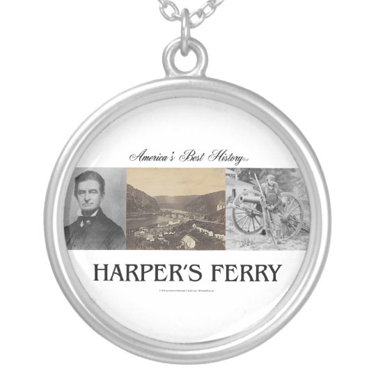 ABH Harpers Ferry Silver Plated Necklace