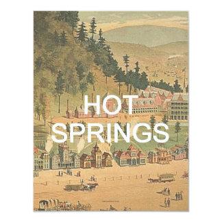 ABH Hot Springs 4.25x5.5 Paper Invitation Card