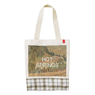 ABH Hot Springs Zazzle HEART Tote Bag