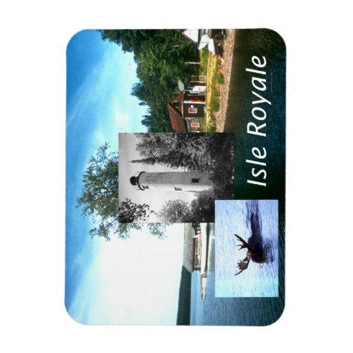 ABH Isle Royale Rectangular Photo Magnet