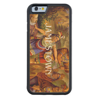 ABH Jamestown Carved® Maple iPhone 6 Bumper Case