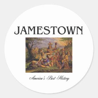 ABH Jamestown Pegatina